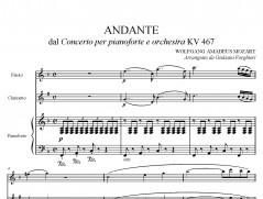 Concerto K 467 – Andante pag001
