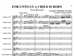 For Unto Us A Child Is Born pag001