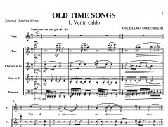 Old Time Songs