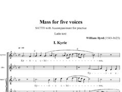 Mass-for-five-voices
